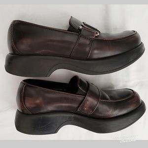 Dansko Professional Buckle Slip on Clogs Shoes